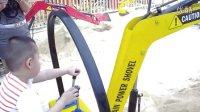 最受欢迎的公园游乐设备--游乐挖掘机