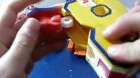正版新立信数字战队0-9全套装变形组合体机器人战神金刚儿童玩具