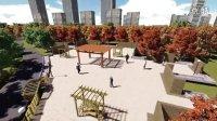 包头市滨河新区中央公园景观设计-宝音吉日嘎拉