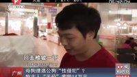 """广州:母狗遭遇公狗""""性侵犯""""?  狗主人""""天价""""索赔14万元[超级新闻场]"""