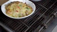 牛肉培根焗饭出炉