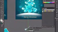 AI视频教程_AI教程_AI实例教程_插画篇_圣诞树