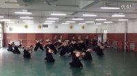山东艺术学院舞蹈学院第十届全国舞蹈大赛《脊梁》排练中