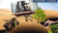177创意趣味的《小人走遍全球旅游旅程》宣传片视频AE模板