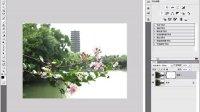 [PS]Photoshop新手教程,ps教程,实战—让照片中的水更绿花更红