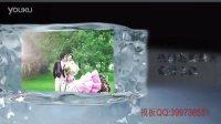 AE图片镶嵌在冰块中片头自动模板0184