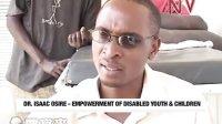 非洲10岁小孩患大象腿病