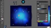 AI视频教程_AI教程_AI实例教程_海报设计篇_放射的蓝 标清