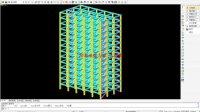 朗筑建筑结构设计培训建模视频-(混凝土第9讲)带支撑框架结构