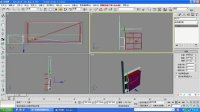 汇艺居家具3dsmax简易鞋柜隔断模型效果图视频教程