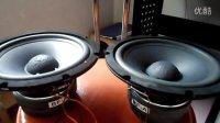 8寸 低音喇叭 专业测试 自制低音炮 自制音箱