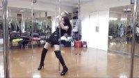 武汉美女钢管舞 钢管舞培训 武汉钢管舞实拍 半个月钢管舞