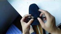 TODS 专柜正品豆豆鞋   鞋带系法