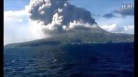 日本樱岛火山爆发实拍剪辑