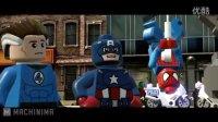 钢铁侠、绿巨人、雷神、蜘蛛侠搞笑乱战《乐高英雄》