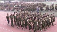 河北衡水中学9.28军训汇演彩排