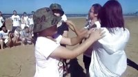 烟台惠百家不动产 沙滩激情拓展活动全程记录片---爱拼才会赢