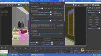 巨灵设计实训基地3DMAX卧室灯光测试