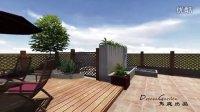屋顶花园设计动画演示