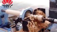 【单轴四刀技术】数控木工车床,完美加工楼梯扶手视频