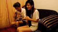 吉他弹唱翻唱《董小姐》开心笑容版 SGLLD跟老爸的合作_高清