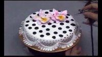 生日蛋糕裱花奶油 蛋糕裱花制作视频