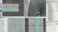 MAYA视频教程第四章多边形实例大象建模09