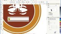 coreldraw X4平面软件自学视频CDR自学标志设计