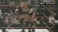 WWE超经典赛事 chyna肌肉女 vs.HHH王中王 triple h