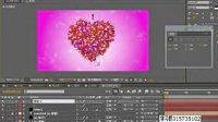 AE视频教程 爱心粒子系 表达式的应用