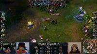 韩国转播 S2世界总决赛WE VS CLG EU game2断网重赛局