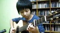 [宁博]吉他小神童 郑成河 最新弹奏 孙丹菲单曲 Crazy