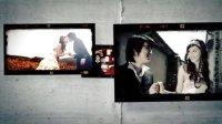 婚礼视频预告片模板AE电子相册模板婚礼视频模板婚礼开场片模板相机爱情