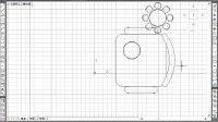 10天学会AutoCAD 2013建筑标准施工图绘制—2.16 编辑图形:餐桌