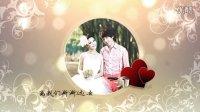 AE CS5婚礼模板-心心相印 AE唯美浪漫婚庆模板 AE婚礼预告片头