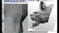 G203_Maya 2008高级动物模型制作建模021