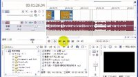 Sony Vegas 教程10:音频淡入淡出专场 音频特效基础处理