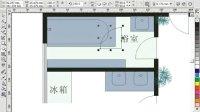 3-06室内装潢平面图制作1