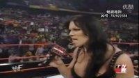 WWF美女巨星 肌肉女Chyna 擂台 被群殴!WWE经典--
