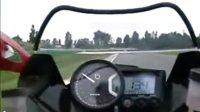 2008 Bimota DB7 1098 赛道疯狂压弯自拍