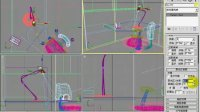 3DMAX视频教程.局部布光法-1
