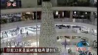 印尼33米圣诞树蛋糕有望创纪录