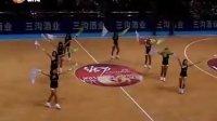 WCBA赛场彩旗飘扬 啦啦队美女吐血露点卖力表演