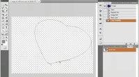 [PS]PhotoshopCS4教程:7.3编辑路径