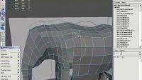 MAYA视频教程第四章多边形实例大象建模04
