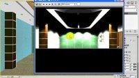 3Dmax室内设计家庭装修实例视频教程16.会议室效果图会议室设计方案 1[NoDRM]-7.