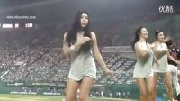 韩国性感背心超短裤-啦啦队热舞,美女啦啦队舞蹈_高清