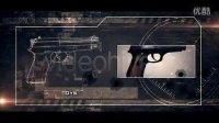 NO.0700 idobe 枪战军事涉及战争片必备AE模板