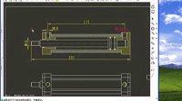 工程图尺寸标注、标题栏和明细表5-18