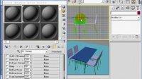 3dmax视频教程3dmax教程下载-餐桌的设计-5
